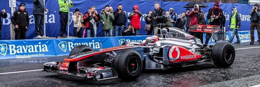 Formel 1 Auto Mercedes
