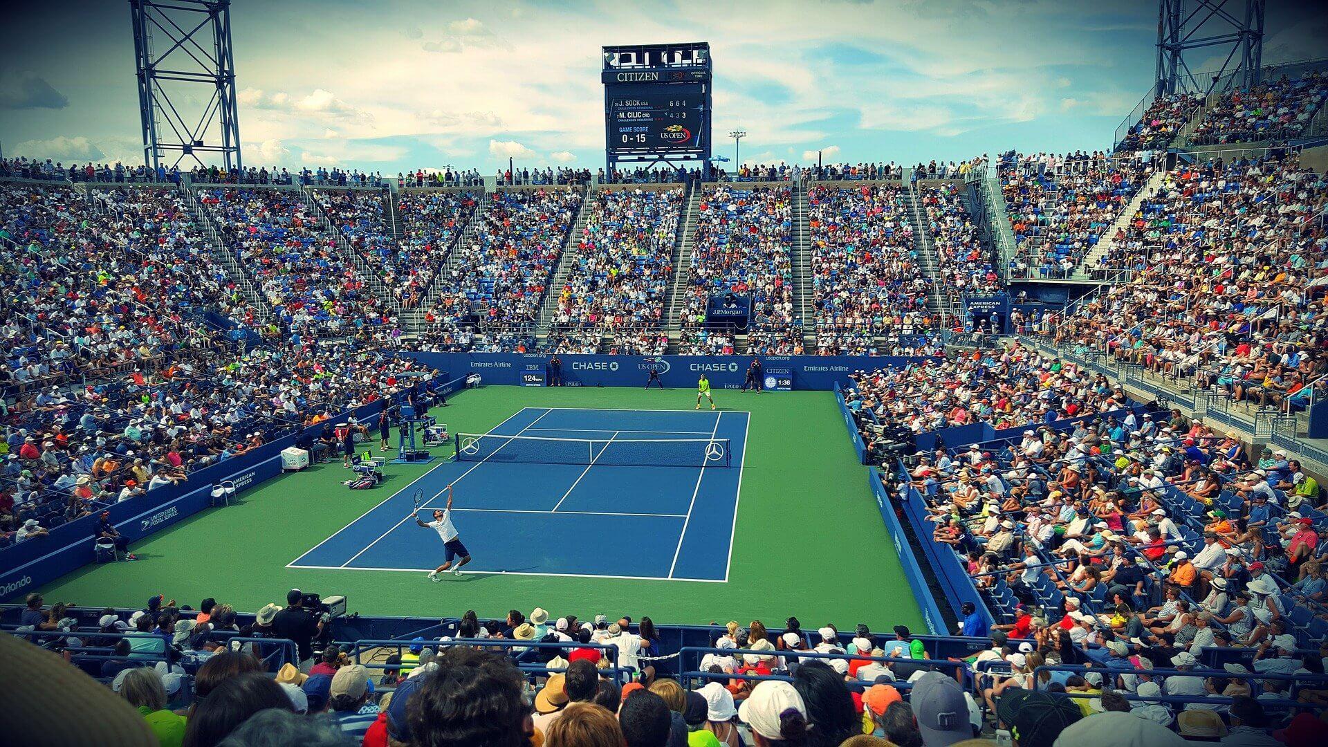 Tennis-Stadion